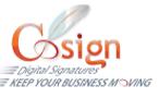 CoSign Digital Signatures